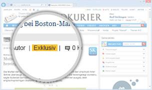 Browser mit SK Plus Exklusiv